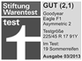 Goodyear Eagle F1 Asymmetric 2 - Gut - Stiftung Warentest 2013
