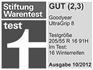 Goodyear UltraGrip 8 - Gut - Stiftung Warentest 2012
