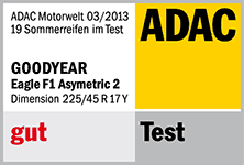 Goodyear Eagle F1 Asymmetric 2 - gut - ADAC 2013