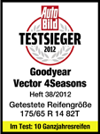 Goodyear Vector 4Seasons - Auto Bild  - TESTWINNER - 2012