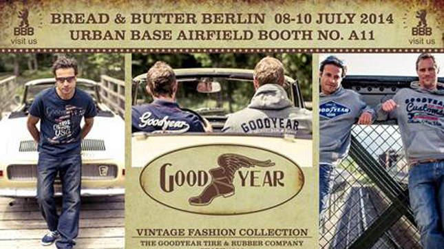 Goodyear Clothing Collection will be at the July Bread & Butter fair
