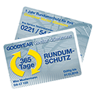 Goodyear Vector Protector Card