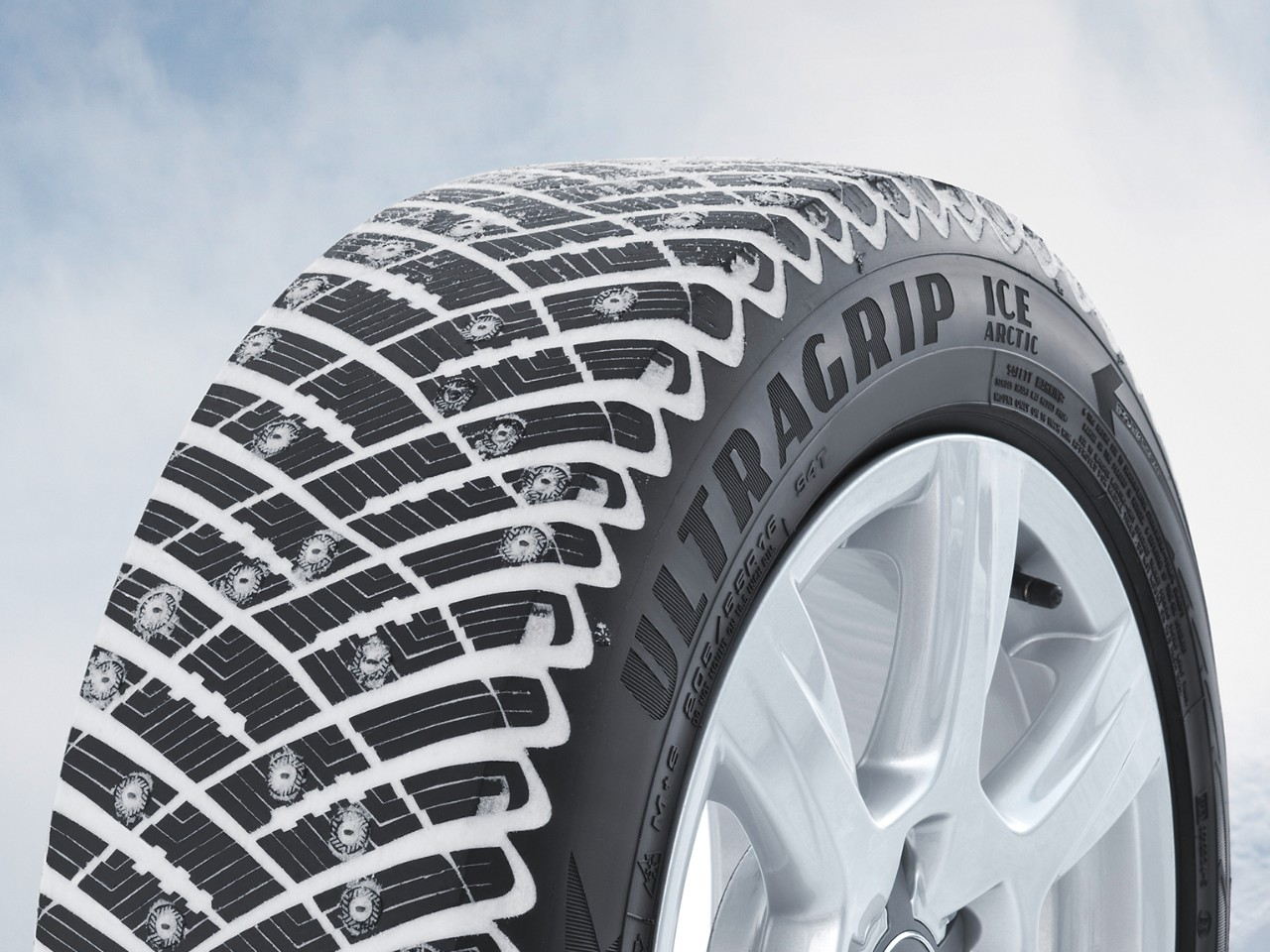 Goodyear Winter Tyre UltraGrip close up