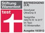 Goodyear UltraGrip 8 - Satisfying 2,8 - Stiftung Warentest - 2012