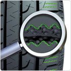 Shorter braking distance on wet and dry roads