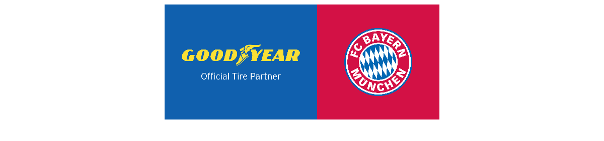 FC Bayern Munchen and Goodyear Official Partners