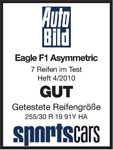 Goodyear Eagle F1 Asymmetric 2 - Good - AutoBild Sportscars - 2010