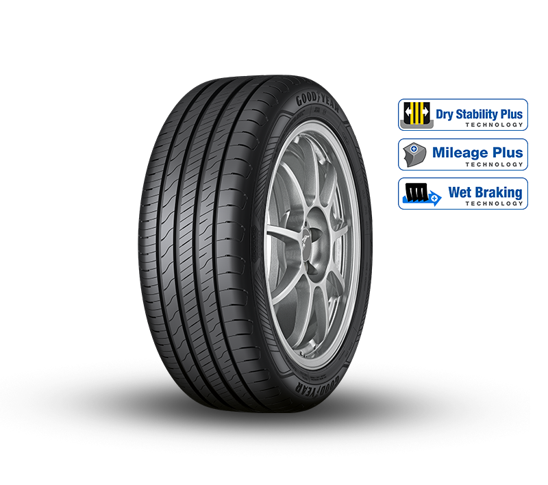 EfficientGrip Performance 2 Tyre Shot with Technologies