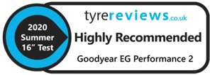 EfficientGrip Performance 2 Tyre Reviews Highly Recommended Badge