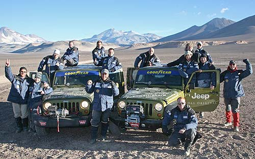 German achieves altitude world record with Jeep on 6,642 metres