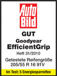 Goodyear EfficientGrip - Good - Auto Bild - 2010