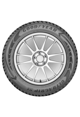 Goodyear UltraGrip Ice Arctic SUV - side view