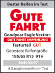 Goodyear Vector 5+ / Eagle Vector 2+ - Good - Gute Fahrt - 2007