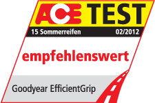 Goodyear EfficientGrip - Ace Test - Recommended - 2012