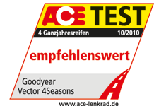 Goodyear Vector 4Seasons - Recommended - ACE & GTÜ - 2010
