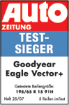 Goodyear Vector 5+ / Eagle Vector 2+ - Test winner - Auto Zeitung - 2007