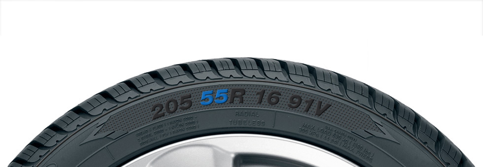 Goodyear Tyre Aspect Ratio